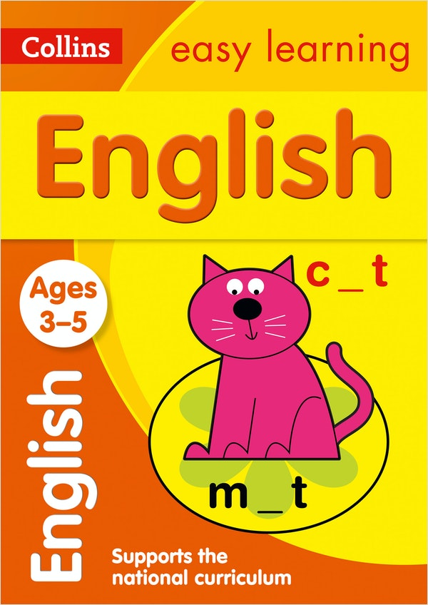 English Workbook (Ages 4-5)