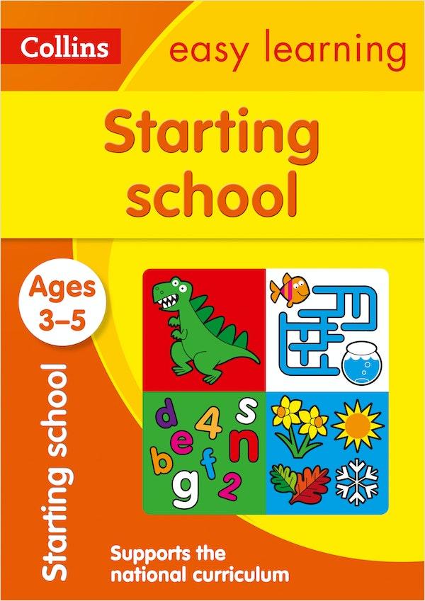 Starting School Workbook (Ages 3-5)