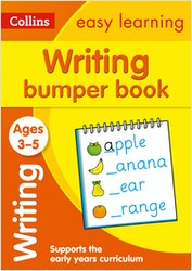 Writing Bumper Workbook (Ages 3-5)