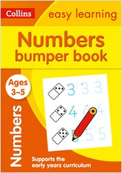 Numbers Bumper Workbook (Ages 3-5)