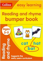 Reading & Rhyme Bumper Workbook (Ages 3-5)