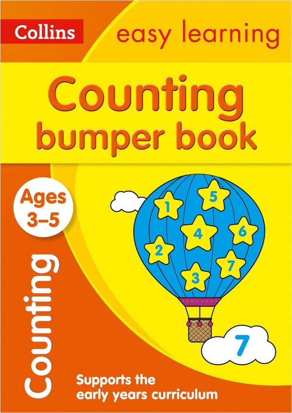 Counting Bumper Workbook (Ages 3-5)