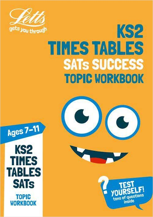 Times Tables Workbook (Ages 7-11)