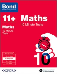 GL Assessment 11+ Maths 10-Minute Tests (Ages 9-10)