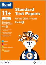CEM 11+ Practice Papers Pack 2 (Ages 10-11)