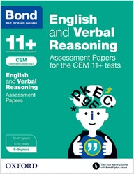 CEM 11+ English & Verbal Reasoning Assessment Papers (Ages 8-9)