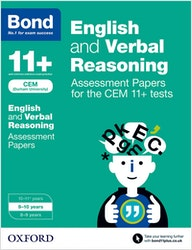 CEM 11+ English & Verbal Reasoning Assessment Papers (Ages 9-10)