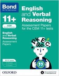 CEM 11+ English & Verbal Reasoning Assessment Papers (Ages 10-11)