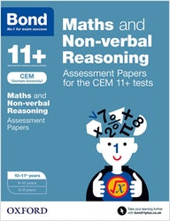 CEM 11+ Maths & Non-Verbal Reasoning Assessment Papers (Ages 10-11)