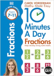 10 Minutes a Day Fractions (Ages 7-11)