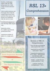 13+ Comprehension Practice Papers