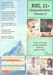 11+ Comprehension Practice Papers (Pack 2)
