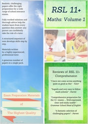 11+ Maths Practice Papers