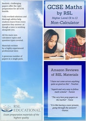 GCSE Maths Practice Papers (Higher Tier)