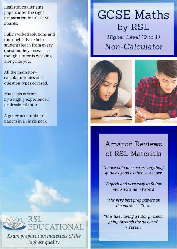 GCSE Maths Practice Papers (Higher Tier)