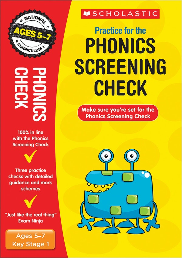 Phonics Screening Test Practice Papers