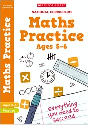 KS1 Maths Practice Book (Ages 5-6)