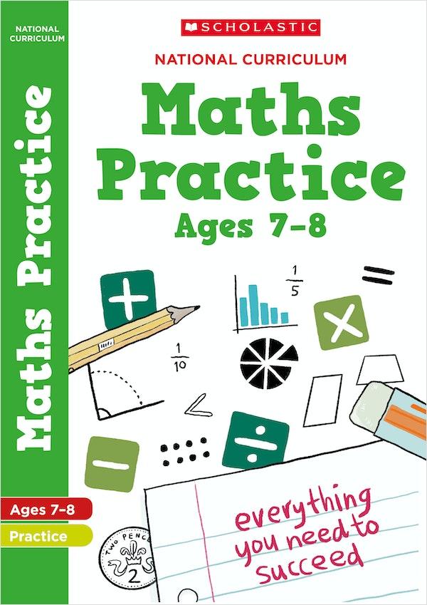 KS2 Maths Practice Book (Ages 7-8)