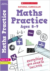 KS2 Maths Practice Book (Ages 8-9)