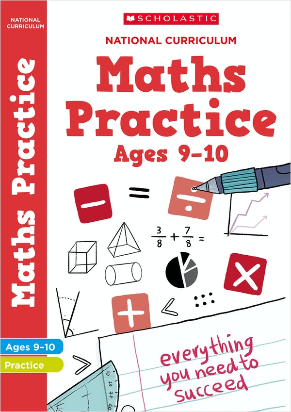 KS2 Maths Practice Book (Ages 9-10)