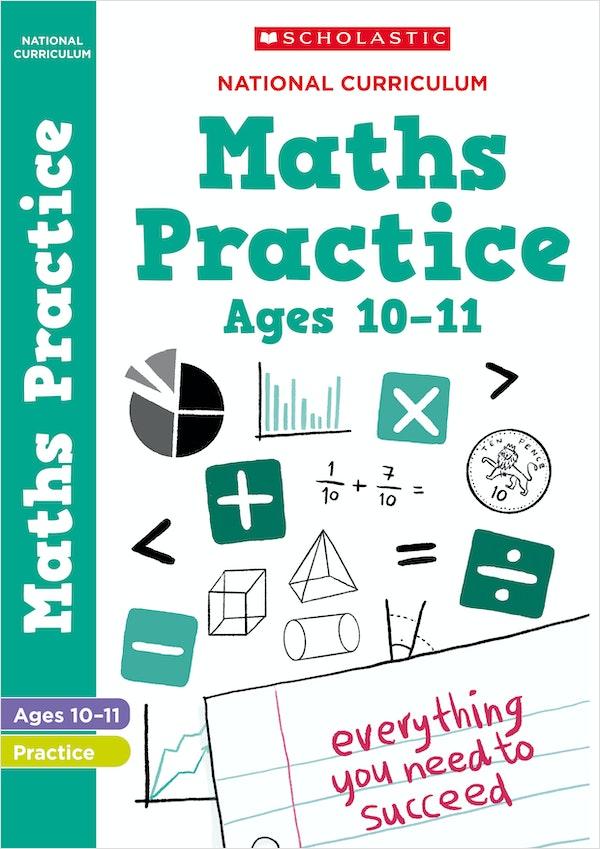 KS2 Maths Practice Book (Ages 10-11)