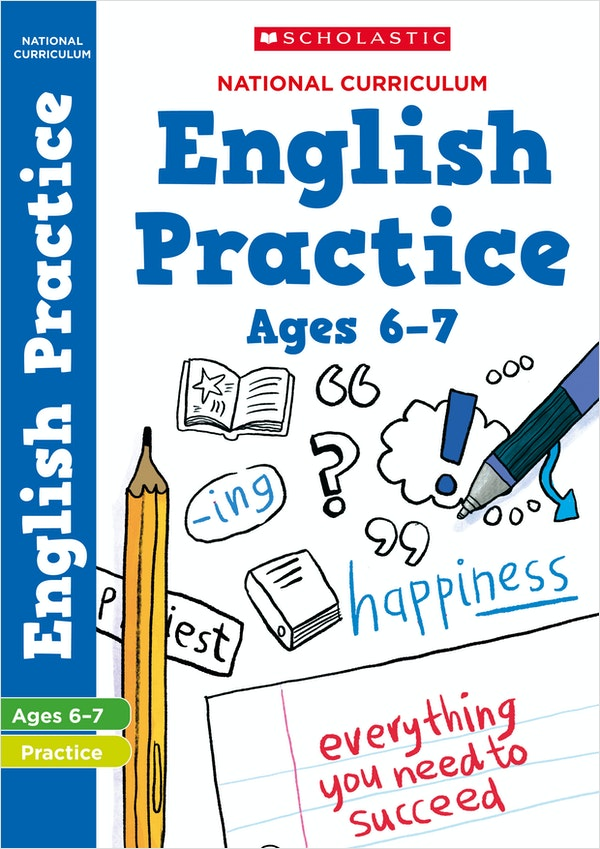 KS1 English Practice Book (Ages 6-7)