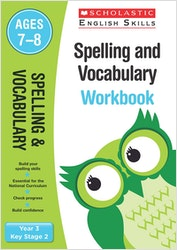 Spelling & Vocabulary Workbook (Ages 7-8)