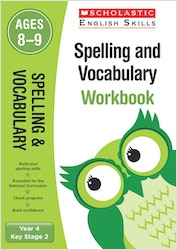 Spelling & Vocabulary Workbook (Ages 8-9)