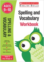 Spelling & Vocabulary Workbook (Ages 9-10)