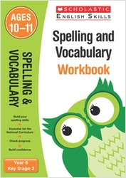 Spelling & Vocabulary Workbook (Ages 10-11)