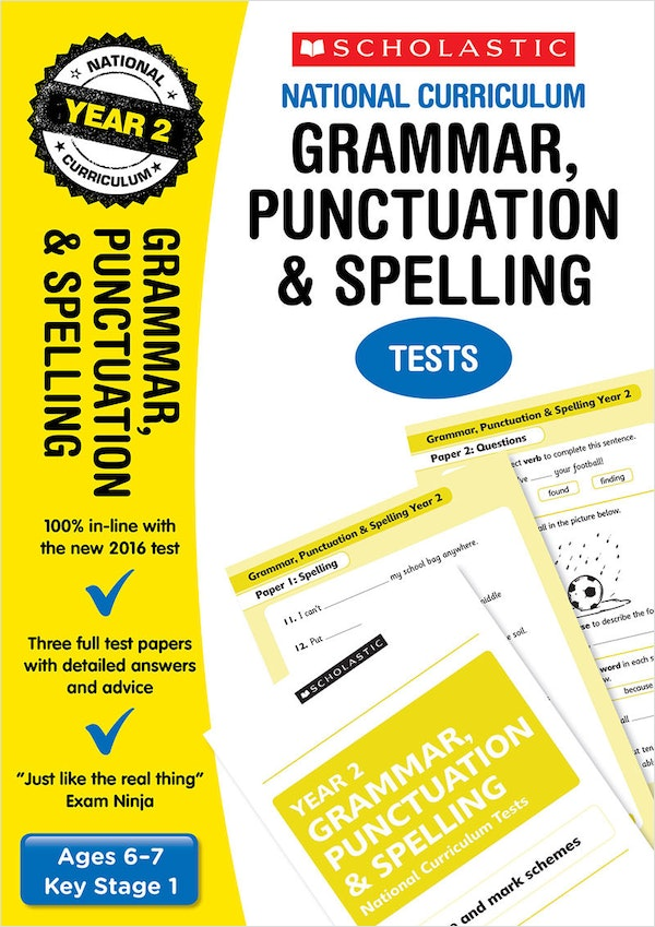KS1 SPaG SATs Practice Papers