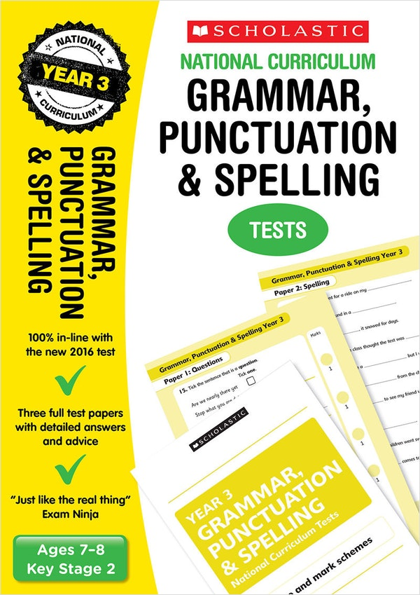 Year 3 SPaG SATs Practice Papers