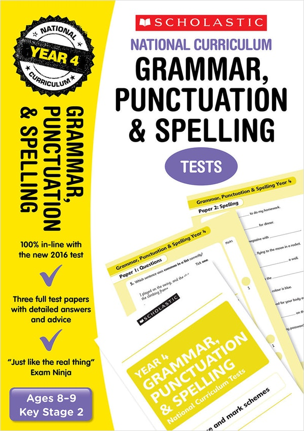 Year 4 SPaG SATs Practice Papers