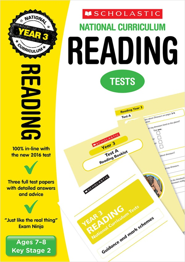 Year 3 Reading SATs Practice Papers