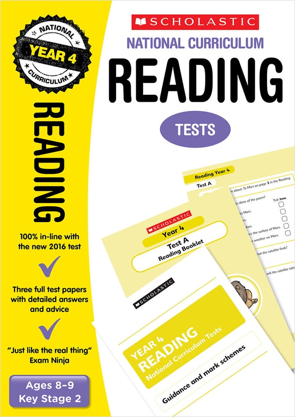 Year 4 Reading SATs Practice Papers