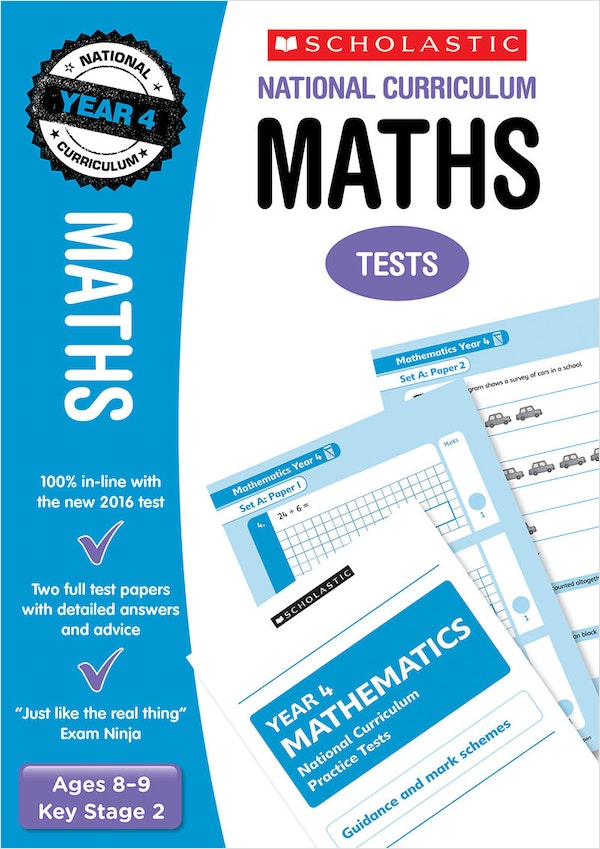 Year 4 Maths SATs Practice Papers