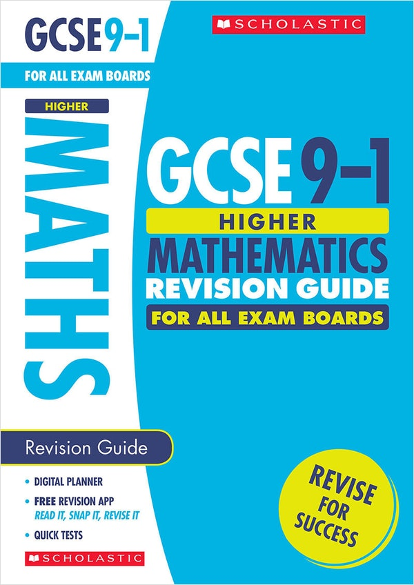 GCSE Maths Revision Guide (Higher)
