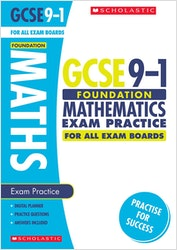 GCSE Maths Exam Practice Book (Foundation)