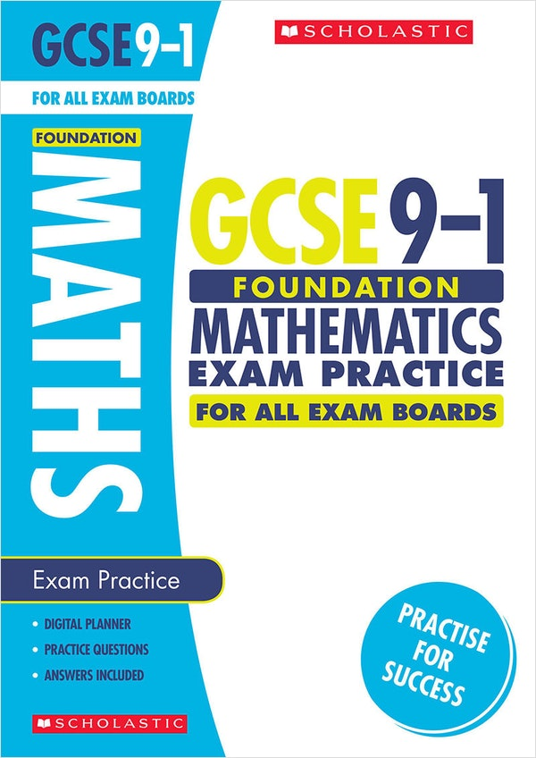 GCSE Maths Exam Practice Book (Foundation)
