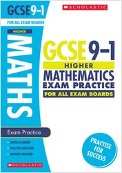 GCSE Maths Exam Practice Book (Higher)