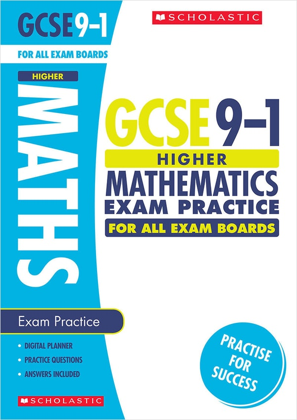 GCSE Maths Exam Practice Book (Higher)