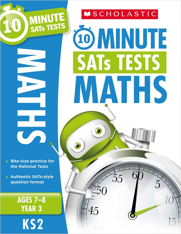 Year 3 Maths 10-Minute SATs Tests