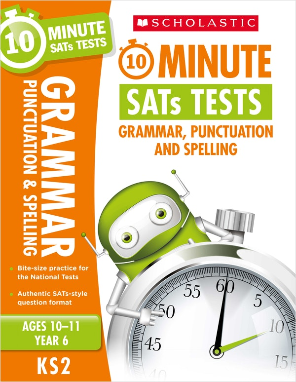 Year 6 SPaG 10-Minute SATs Tests