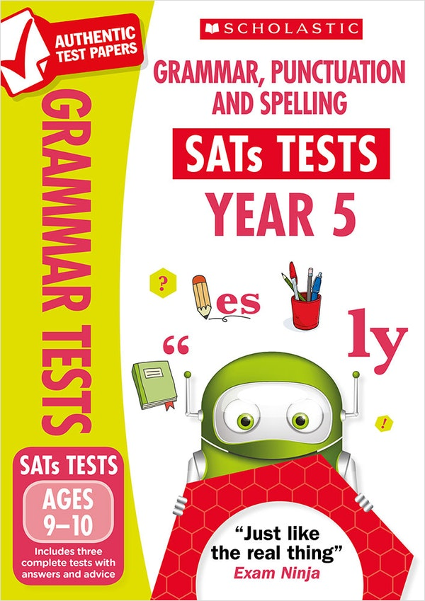 Year 5 SPaG SATs Practice Papers