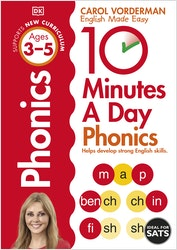 10 Minutes a Day Phonics (Ages 3-5)