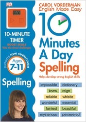 10 Minutes a Day Spelling (Ages 7-11)