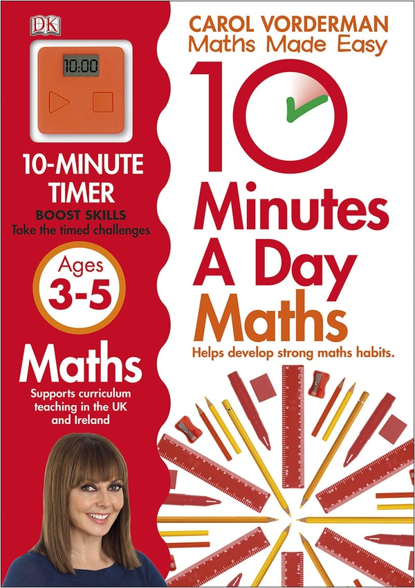 10 Minutes A Day Maths (Ages 3-5)