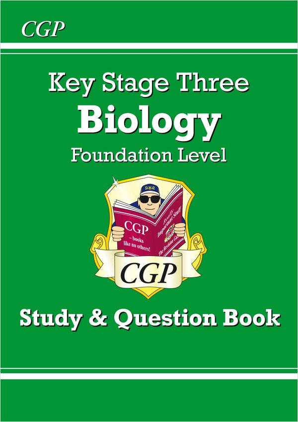 KS3 Biology Study & Question Book (Foundation)