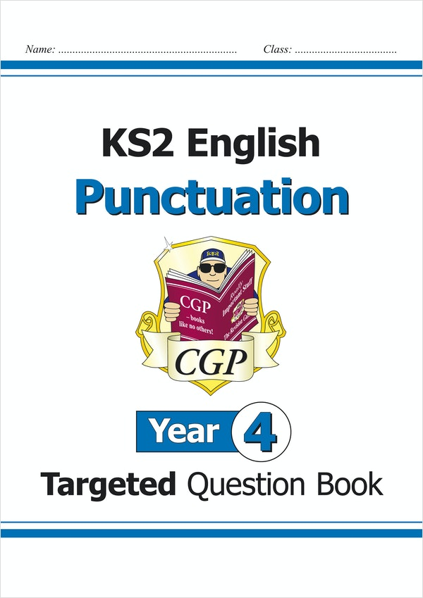 Year 4 Punctuation Targeted Question Book (Ages 8-9)