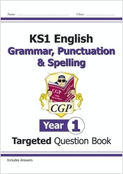 Year 1 Spelling, Punctuation & Grammar Question Book (Ages 5-6)